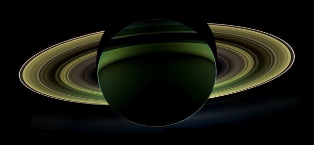 Saturn shadow