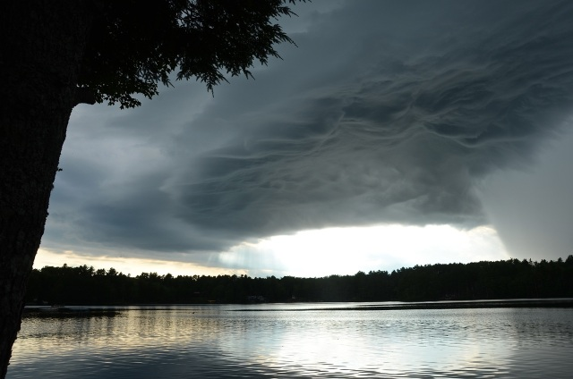 Maine storm cell