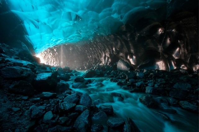 Juneau ice cave