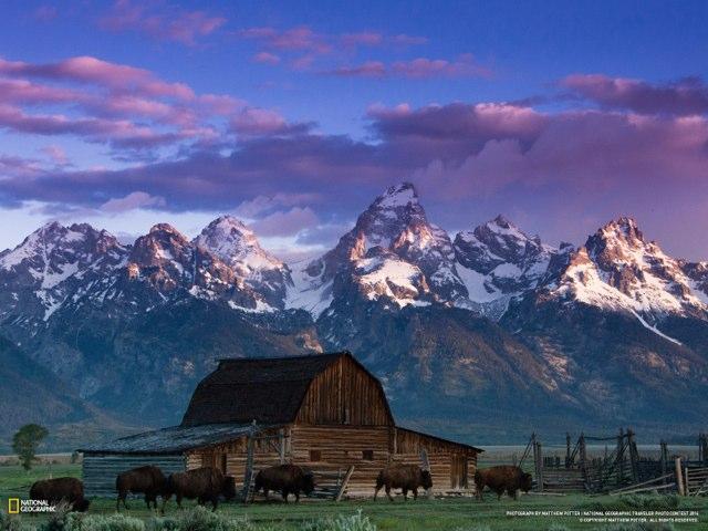 Grand Teton dawn