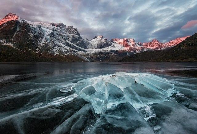 Storvatnet ice