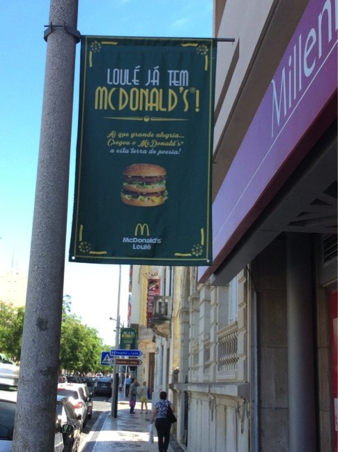 McDonald s banner