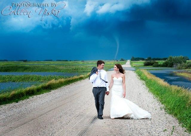Wedding tornado
