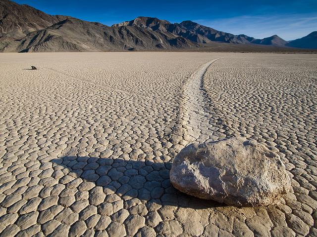 Death Valley rock