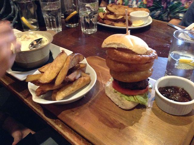 Scottish hamburger