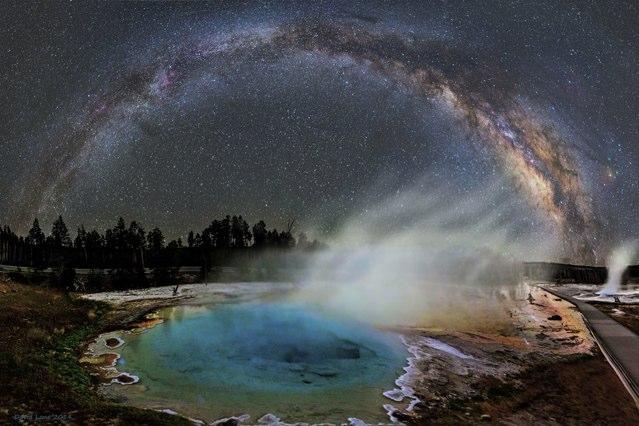 Yellowstone Milky Way