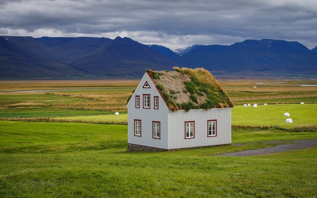 Icelandic sodhouse