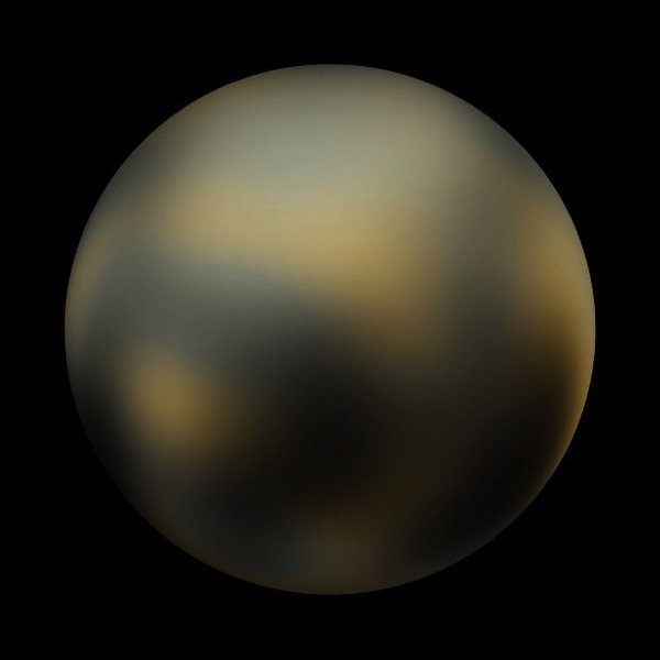 Pluto before