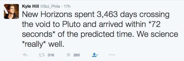 Pluto tweet 1