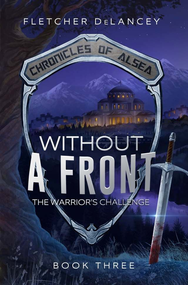 book cover of Without A Front: The Warrior's Challenge