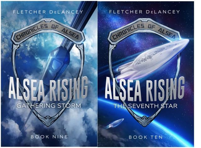 Alsea Rising covers side by side